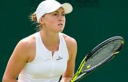 Александра Саснович вышла в полуфинал турнира ВТА во Франции