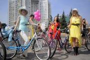 Минчане выбрали самую стильную велосипедистку
