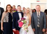 На выходных в Минске был свадебный переполох