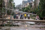 Жертвами тайфуна в Китае стали 33 человека