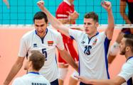 Белорусские волейболисты обыграли сборную Египта