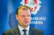 Литва одобрила план поддержки белорусскому народу