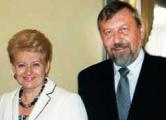 Даля Грибаускайте встретилась с  претендентами на пост президента  Беларуси