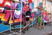 Финалисты фестиваля граффити разрисуют стену площадью 200 кв.м