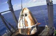 Космический корабль Crew Dragon вернулся на Землю