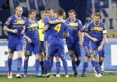 Футболисты БАТЭ в восьмой раз стали чемпионами Беларуси