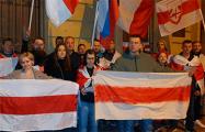 Белорусы Санкт-Петербурга выразили благодарность французскому народу за поддержку Беларуси