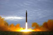 Северокорейская ракета упала недалеко от Японии