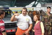 Силач Кирилл Шимко намерен сдвинуть 55-тонный БелАЗ на Дне автомобилиста в Минске