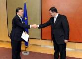 Евдоченко вручил верительные грамоты председателю Еврокомиссии Ж.М.Баррозу