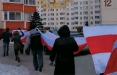 Боровляны вышли на марш в поддержку жителей квартала «Пирс»