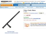 Британский Amazon отозвал из продажи полицейские дубинки