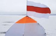 Рыбаки-патриоты озерного Мядельского края солидарны со всеми свободным белорусами