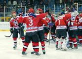 Победителей Континентального кубка в Гродно встретили салютом