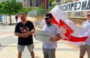 Фотофакт: Белорусы Майами вышли на акцию солидарности