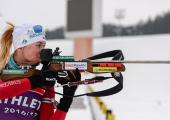Белорусских биатлонисток сняли с дистанции в эстафете на этапе Кубка мира