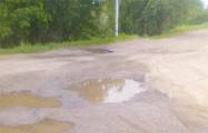 Житель агрогородка под Горками показали, куда идет «дорожный налог»