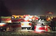 Вечерние акции прошли сегодня во многих регионах Беларуси