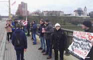 Яркие фото с акции в защиту независимости Беларуси