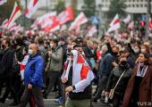 Десятки тысяч белорусов вышли на марши в преддверии национальной забастовки