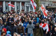 Марш в Минске подходит к завершению