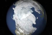 НАСА сообщило о рекордно низкой площади зимних льдов в Арктике
