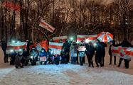 Как встретили старый Новый год белорусы