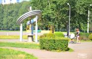 Минчане решительно защищают парк, на который наступают власти