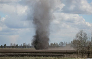 Фотофакт: В Добрушском районе прошел торнадо