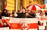 Белорусы Москвы и Санкт-Петербурга провели акции в поддержку соотечественников