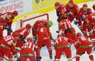Белорусские хоккеисты играют со Словенией за путевку на Олимпиаду