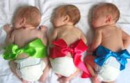 В Беларуси к вечеру 1 января родилось уже почти 200 детей