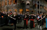 Крестный путь с участием папы Франциска (Видео, онлайн)