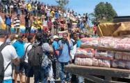 «Живая цепь» доставит гумпомощь в Венесуэлу из Колумбии