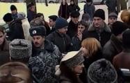 Видеофакт: «Молодой фронт» проводит 14 февраля акцию в Минске