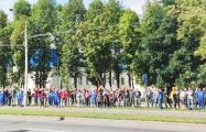 Строители «Айрона» вышли на забастовку