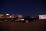 В Витебске открыли первый автокинотеатр