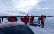 Один из участников встречи лыжников под Молодечно сбежал