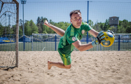 Футболист-пляжник сборной Беларуси: Во время гимна читаю про себя «Погоню» Богдановича