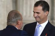 Хуан Карлос подписал акт об отречении от испанского престола