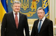 Порошенко с Волкером договорились об ответе на атаку РФ в Керченском проливе