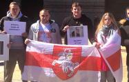 В Филадельфии прошла акция в поддержку Святослава Барановича