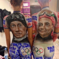 Фотофакт: Олимпийские фанатки