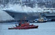 Фотофакт: Как горел авианосец «Адмирал Кузнецов»