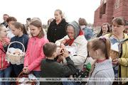 Как встречают Пасху в Столбцовском районе