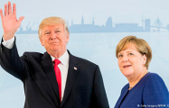 О чем Трамп разговаривал с Меркель?