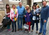 Санников и семья Карпенко встретились в Эсслингене