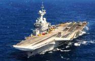 Авиация Франции совершила первые вылеты против ИГ с авианосца «Шарль де Голль»