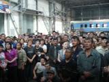 Работники Гомельского вагоноремонтного завода требуют повышения зарплаты