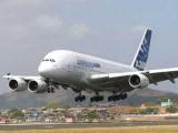 Самолет A380 вернули в Нью-Йорк из-за поломки